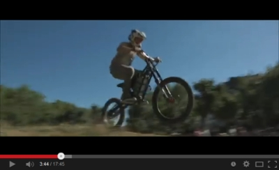 Electric bike freeriding movie - Project LMX